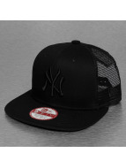 New Era Trucker Cap LB NY Yankees Contrast Panel black
