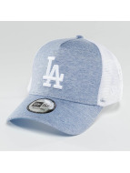 New Era Trucker Cap Essential Jersey LA Dodgers blau