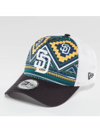 New Era Trucker Cap West Coast Print San Diego Padres colored