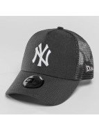 New Era Trucker Cap MLB Heather grau