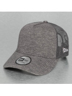 New Era Trucker Cap Jersey grau