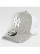 New Era Trucker Cap Essential Jersey NY Yankees grau