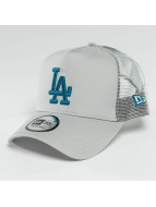 New Era Trucker Cap League Essential LA Dodgers grau