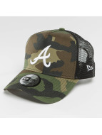 New Era Trucker Cap League Essential Atlanta Braves mimetico