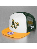New Era Trucker Cap Kids Teammesh Oakland Athletics weiß