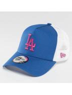 New Era Trucker Capler MLB Essential LA Dodgers mavi