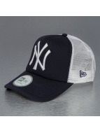 New Era Trucker Capler Clean mavi