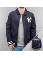 New Era Veste demi-saison MLB NY Yankees bleu