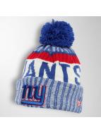 New Era Winter Bonnet On Fiel NFL Sport NY Giants blue