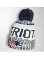 New Era Winter Bonnet On Fiel NFL Sport New England Patriots blue