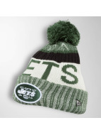 New Era Wintermütze On Fiel NFL Sport NY Jets grün