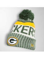 New Era Wintermütze On Fiel NFL Sport Green Bay Packers grün