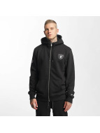 New Era Zip Hoodie Oakland Raiders svart