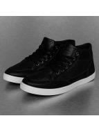 New York Style Sneaker PU Braided schwarz