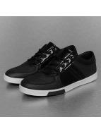 New York Style sneaker Perforated Pattern zwart