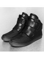 New York Style Sneakers High èierna