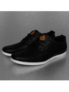 New York Style Sneakers Perforated black