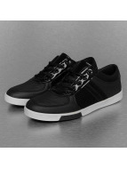 New York Style Sneakers Perforated Pattern svart
