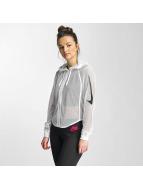 Nike Демисезонная куртка NSW FZ Crop SWSH MSH белый