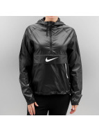 Nike Демисезонная куртка W NSW Packable Swsh черный