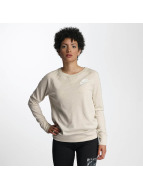 Nike Пуловер Sportswear Crew бежевый