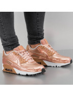 Nike Сникеры Air Max 90 SE Leather (GS) красный