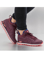 Nike Сникеры WMNS Internationalist Mid Leather красный