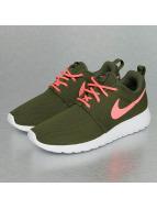 Nike Сникеры Rosherun оливковый