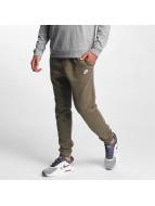 Nike Спортивные брюки NSW FLC CLUB оливковый