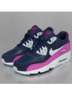 Nike Baskets Air Max 90 Leather (GS) bleu