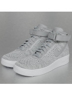 Nike Baskets Air Force 1 Flyknit gris