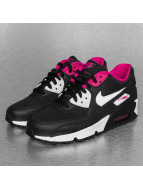 Nike Baskets Air Max 90 Mesh (GS) noir