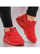 Nike Baskets Huarache Run (GS) rouge