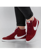 Nike Baskets WMNS Blazer Mid Suede rouge