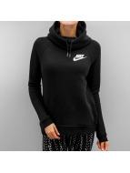 Nike Bluzy z kapturem Sportswear Rally czarny