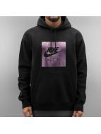 Nike Bluzy z kapturem NSW PO FLC Air Hrtg czarny