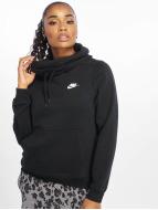Nike Bluzy z kapturem Garoo czarny