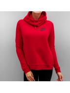 Nike Bluzy z kapturem Sportswear Rally czerwony
