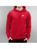 Nike Bluzy z kapturem Sportswear czerwony