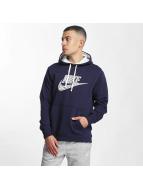 Nike Bluzy z kapturem GX2 Fleece niebieski
