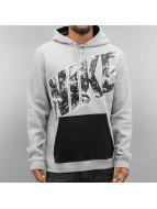 Nike Bluzy z kapturem City Lights Fleece szary