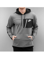 Nike Bluzy z kapturem NSW AV15 PO FLC szary