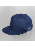 Nike Casquette Flex Fitted True Swoosh bleu