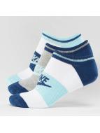 Nike Chaussettes Sportswear No Show bleu
