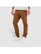 Nike Chinot/Kangashousut SB 5 Pocket ruskea