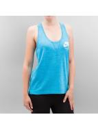 Nike Débardeurs Gym Vintage turquoise