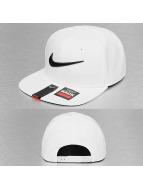 Nike Gorra Snapback NSW Swoosh Pro blanco