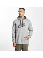 Nike Hoodie GX2 Fleece grå