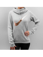 Nike Hoodie Club Funnel Graphic gray