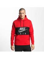 Nike Hoodie Air NSW röd